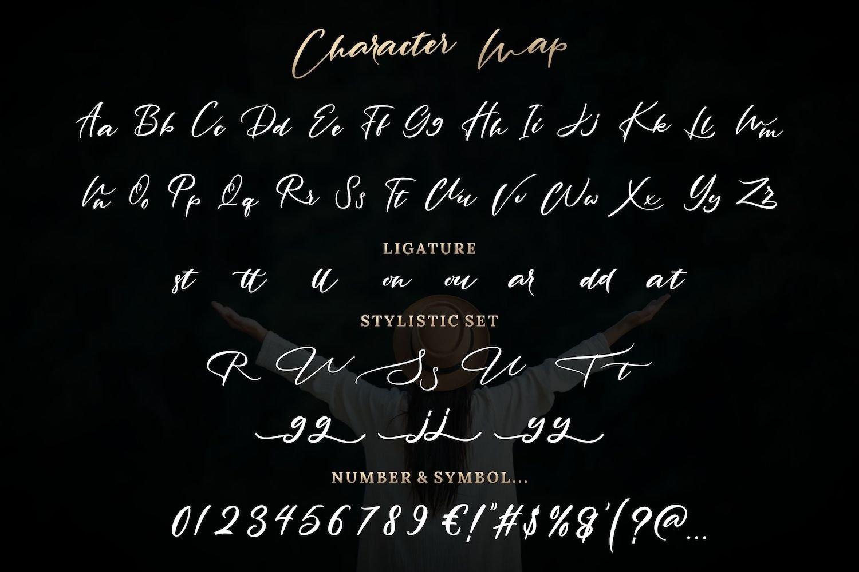 Rantting Tjinta - Stylish Script Font example image 5