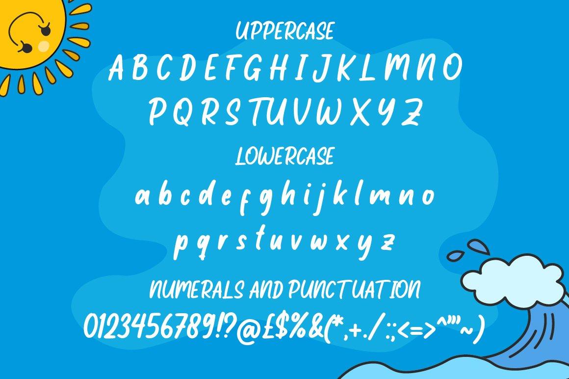 Little Student / Handwritten Font example image 10