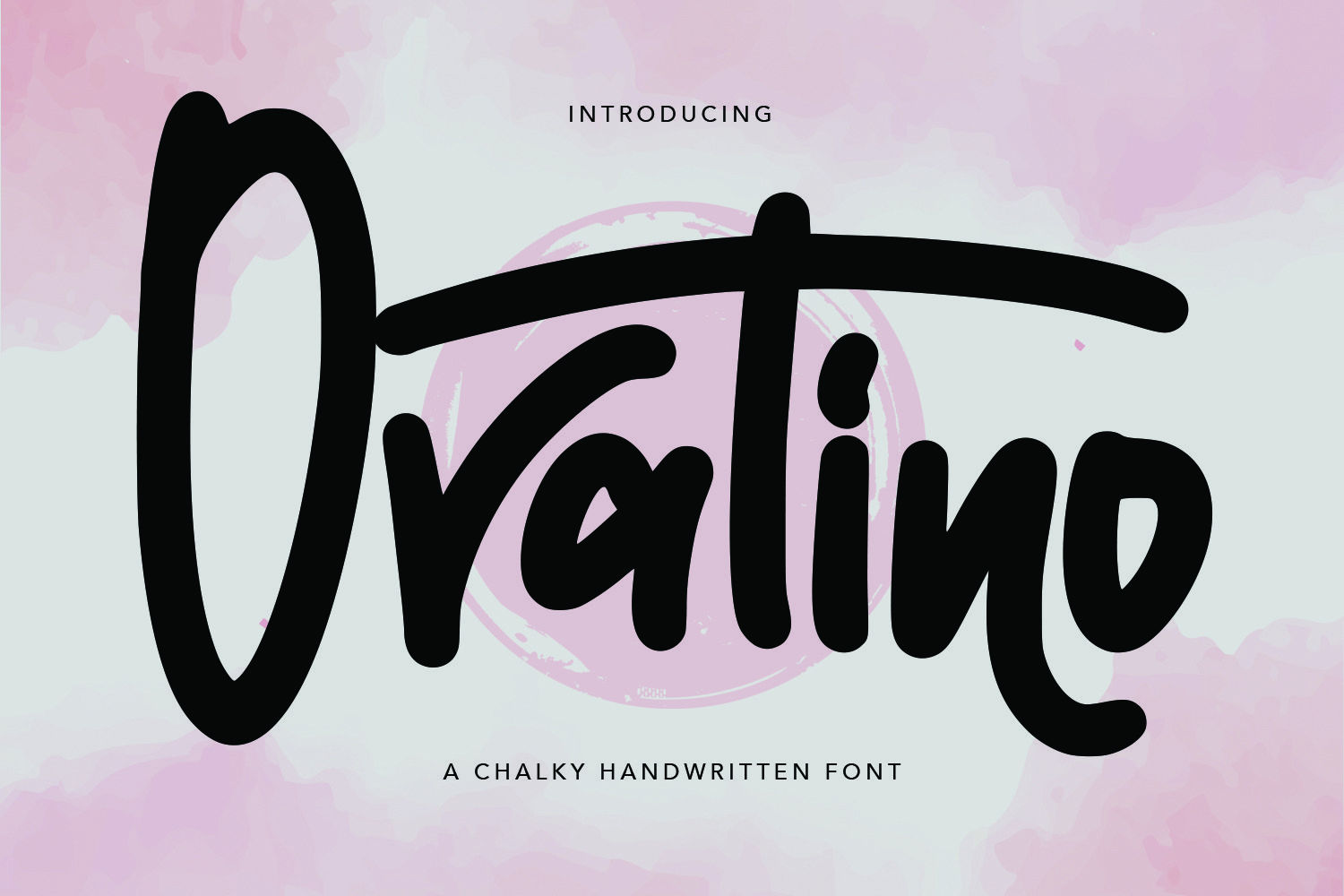 Ovatino - Chalky Handwritten Font example image 1