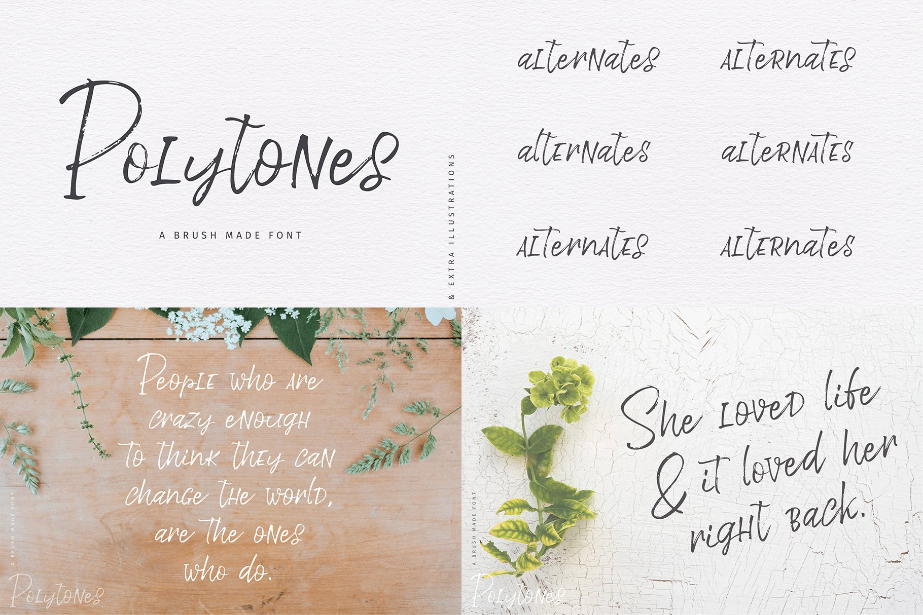 The Hand Lettered Font Bundle example image 22