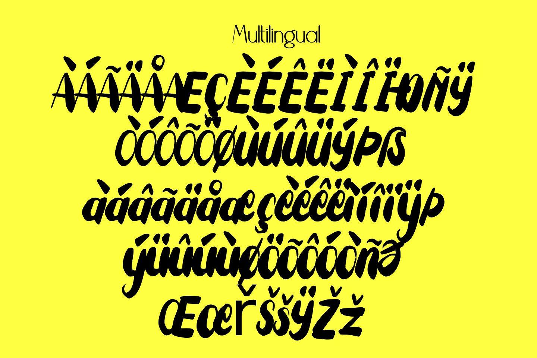 Tuesday Spirit Ethnic Font example image 11