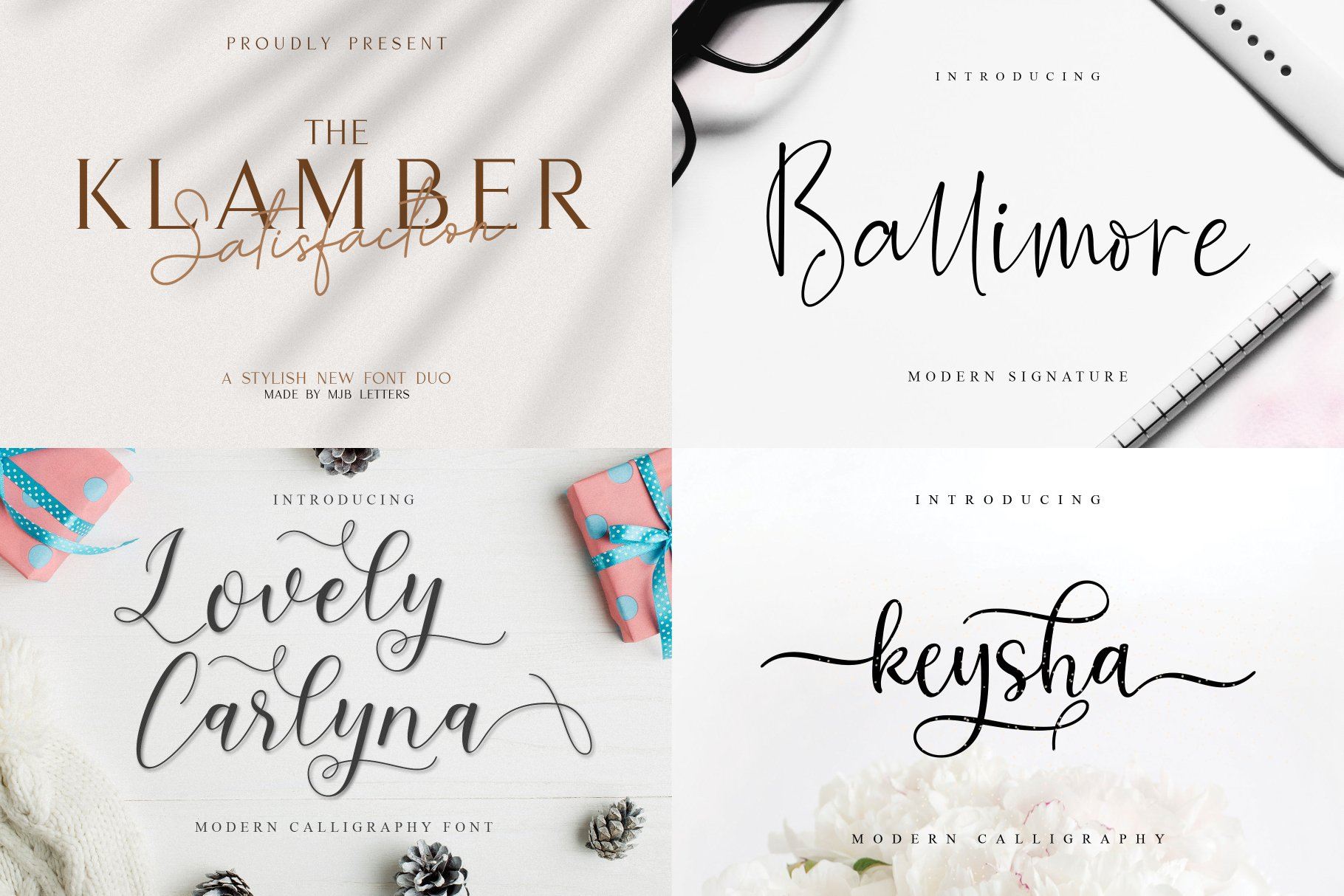 BIG BUNDLE - BEST FONT COLLECTIONS example image 8