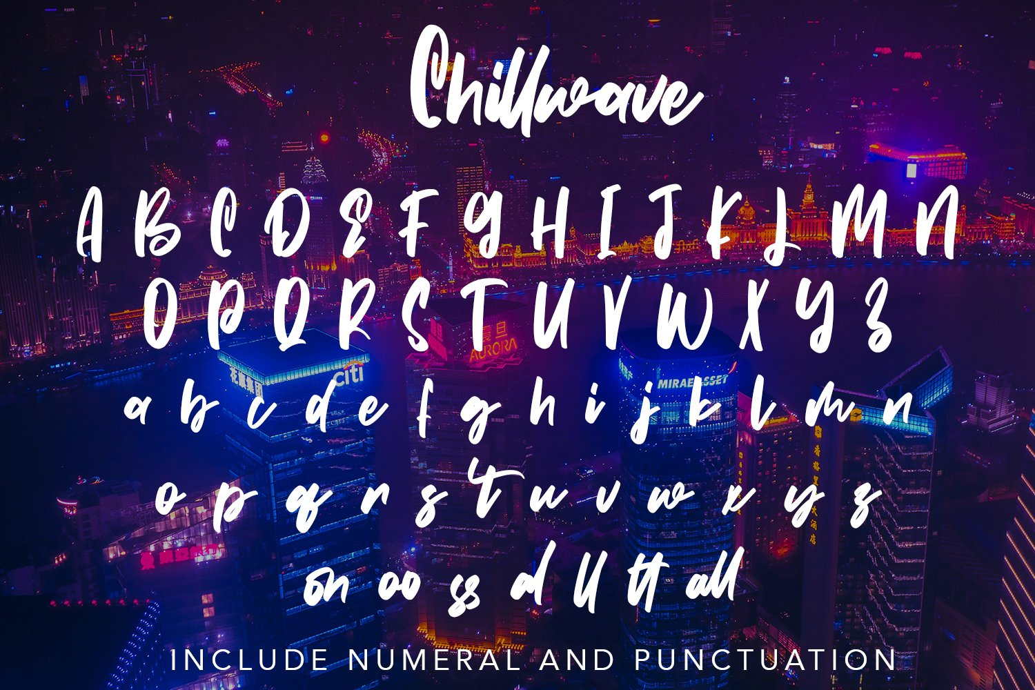 Chillwave - Cool Script Fonts example image 6