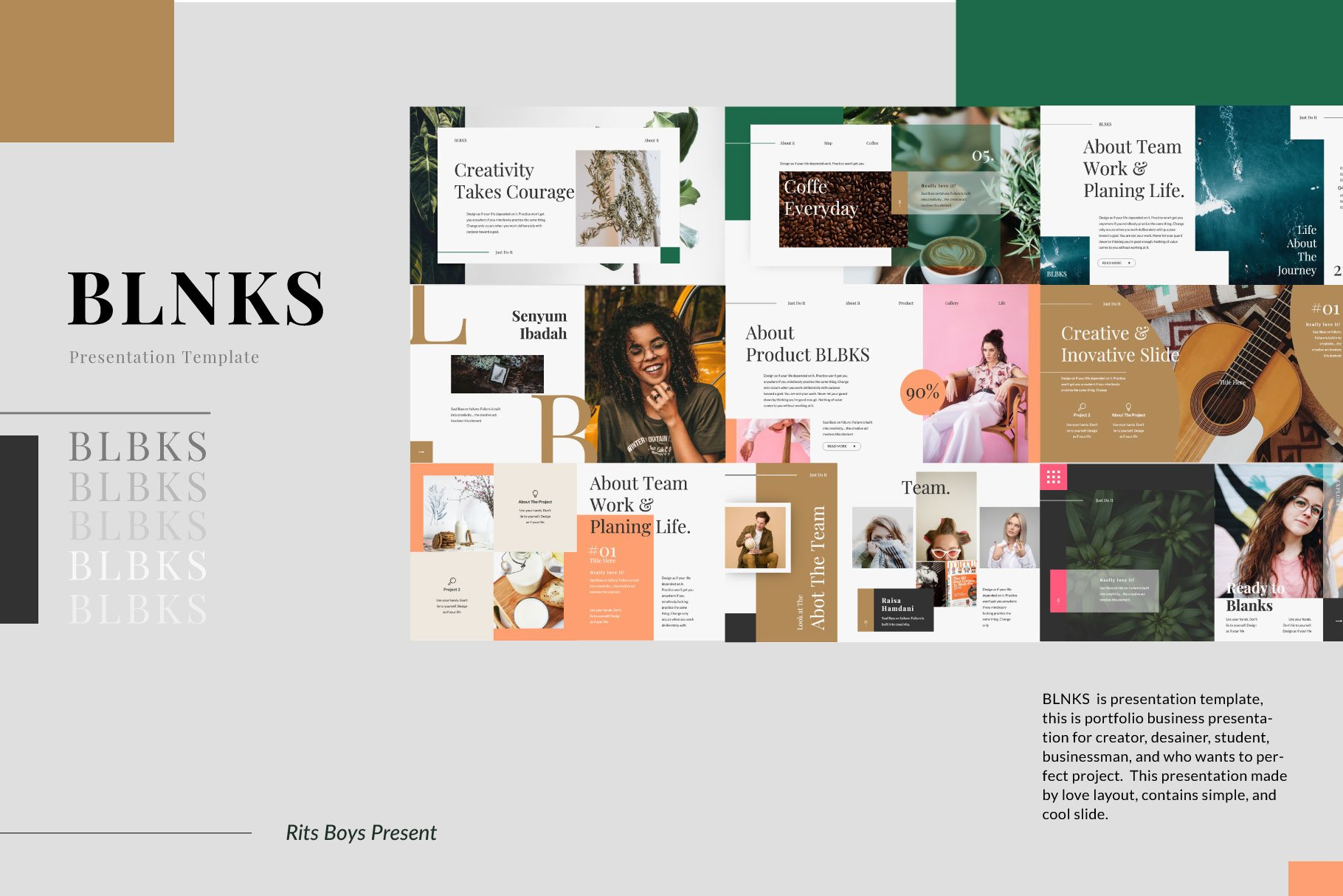BLNKS Business Keynote example image 4