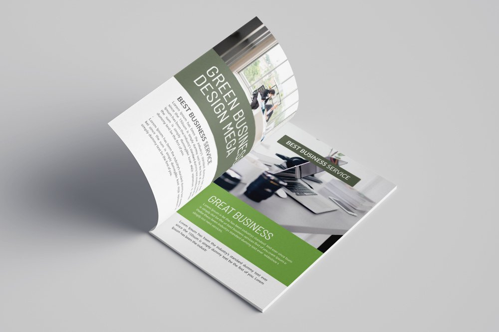 Business Annual Report Brochure 16 Pages example image 2
