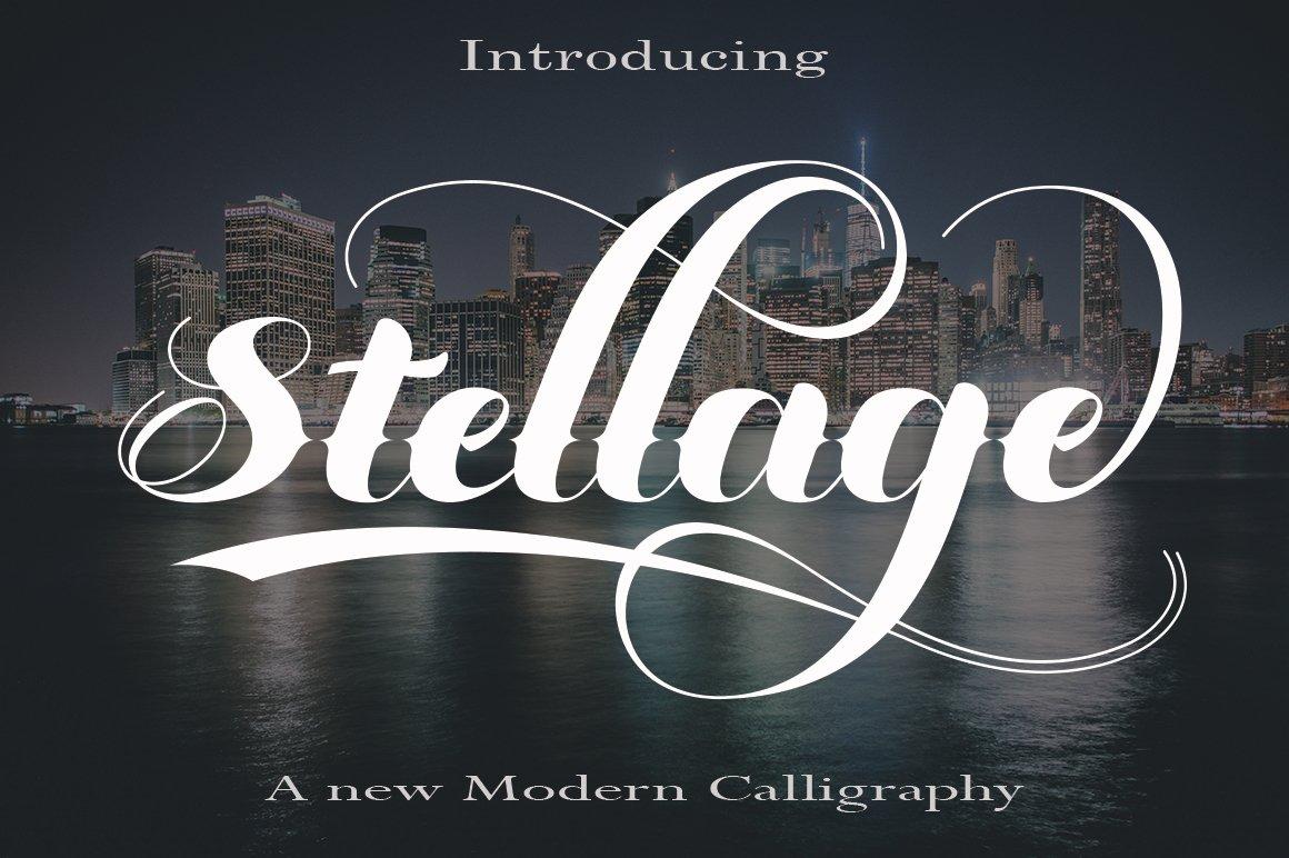 Stellage example image 1