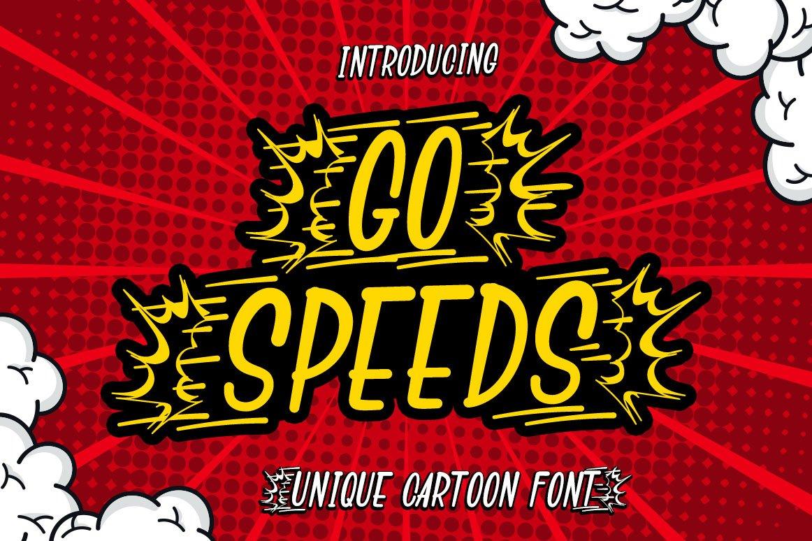 Comic Speeds example image 4