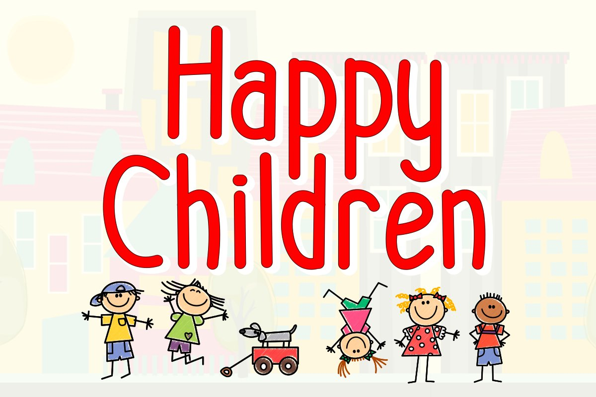 Happy Children example image 1