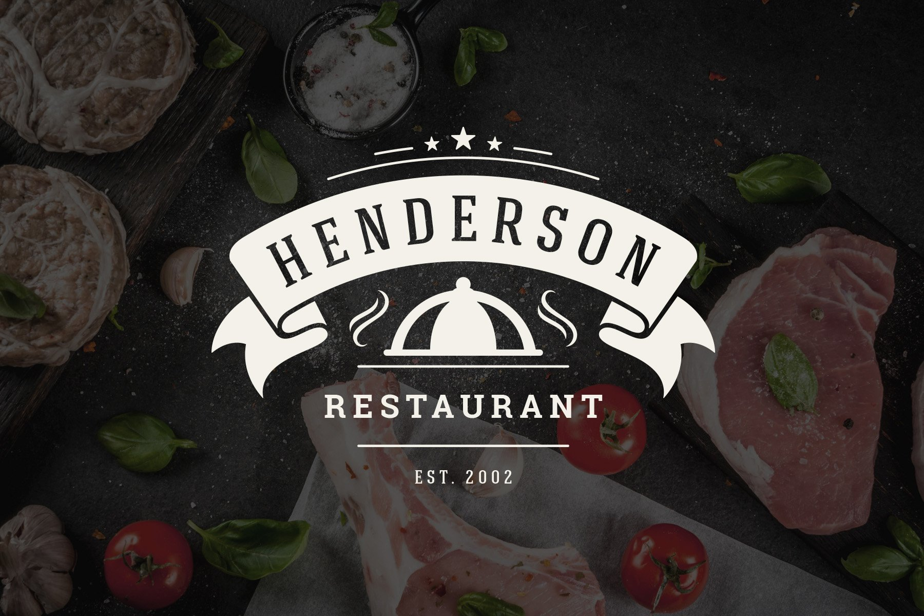 36 Restaurant Logos and Badges example image 13