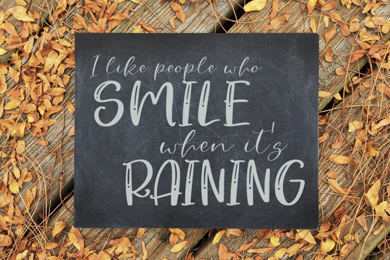 Rainy Sunday Font Duo example image 3
