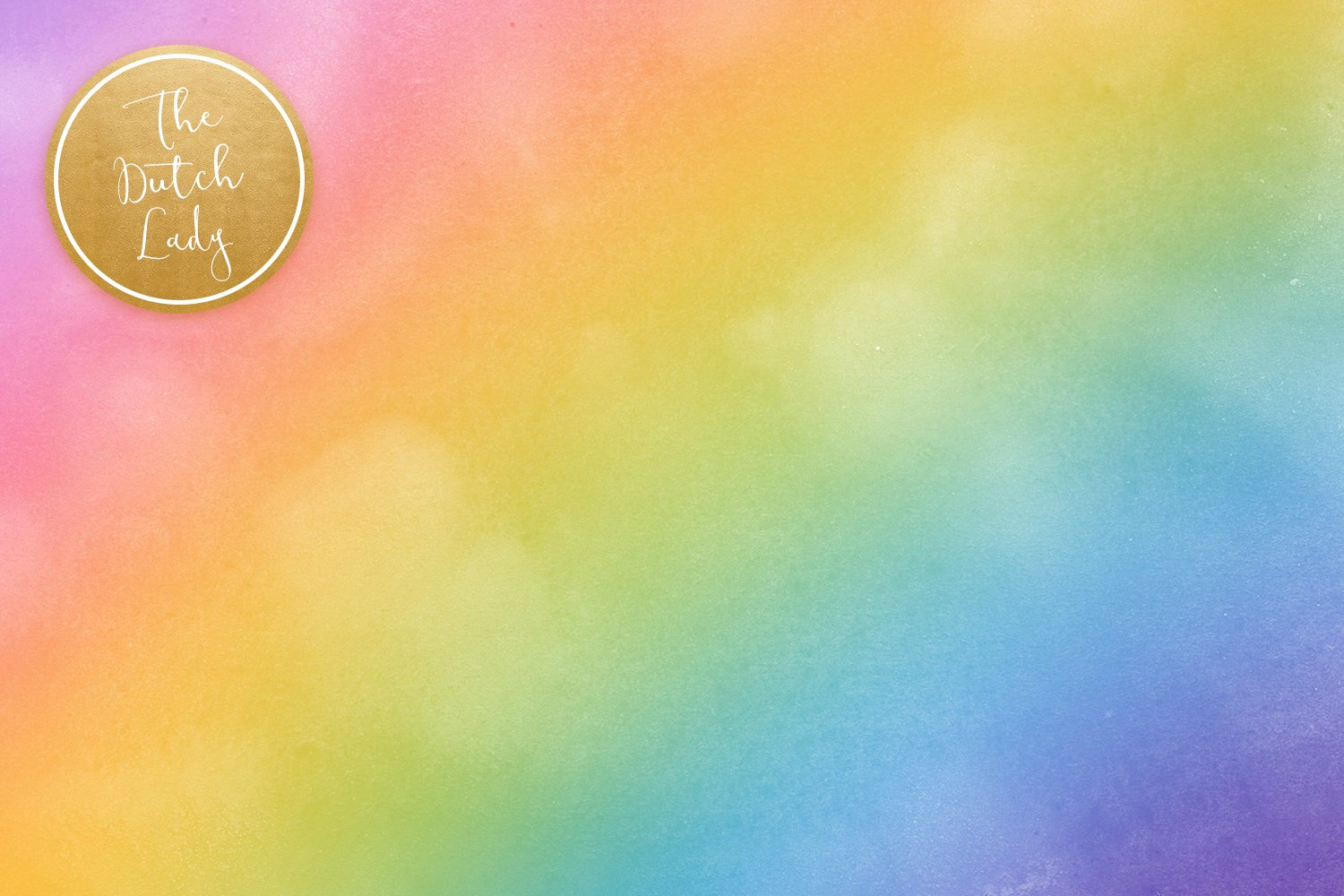 Digital Backgrounds & Papers - Distressed Rainbow Gradients example image 5