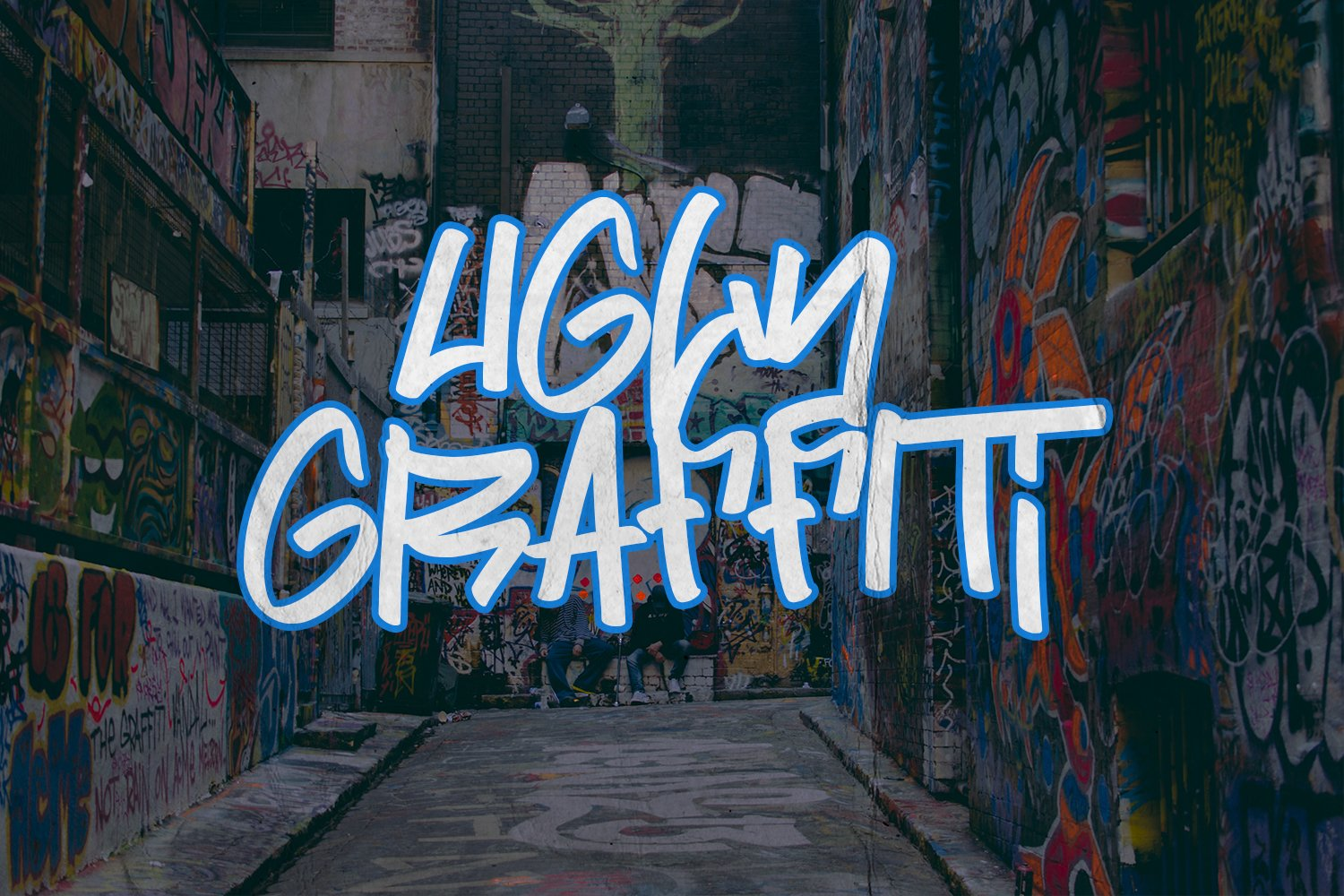 Street Power | Graffiti Font example image 7