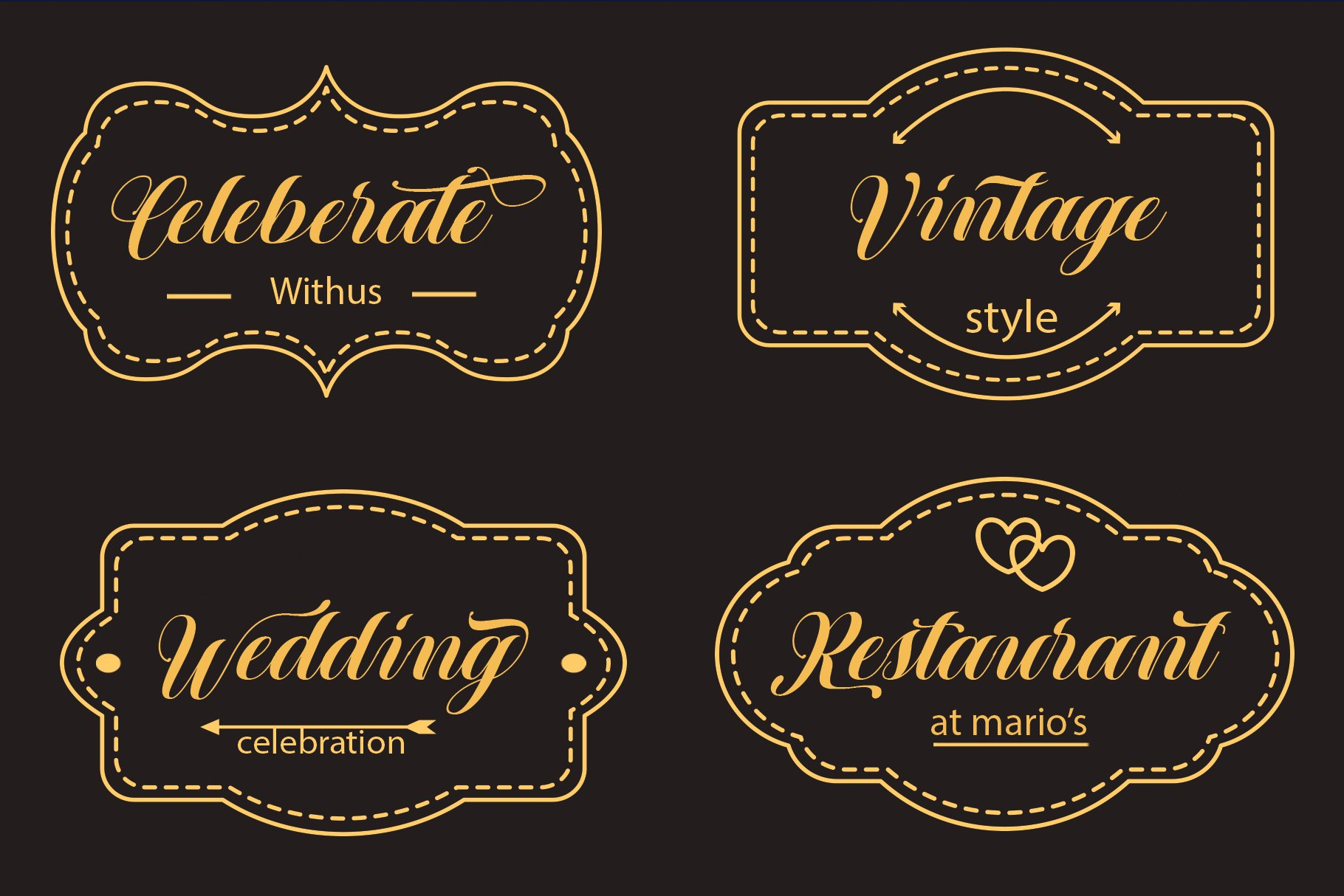 12 graceful charming fonts example image 4