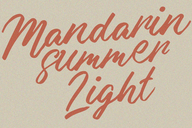 Malika Brush Script Typeface example image 9