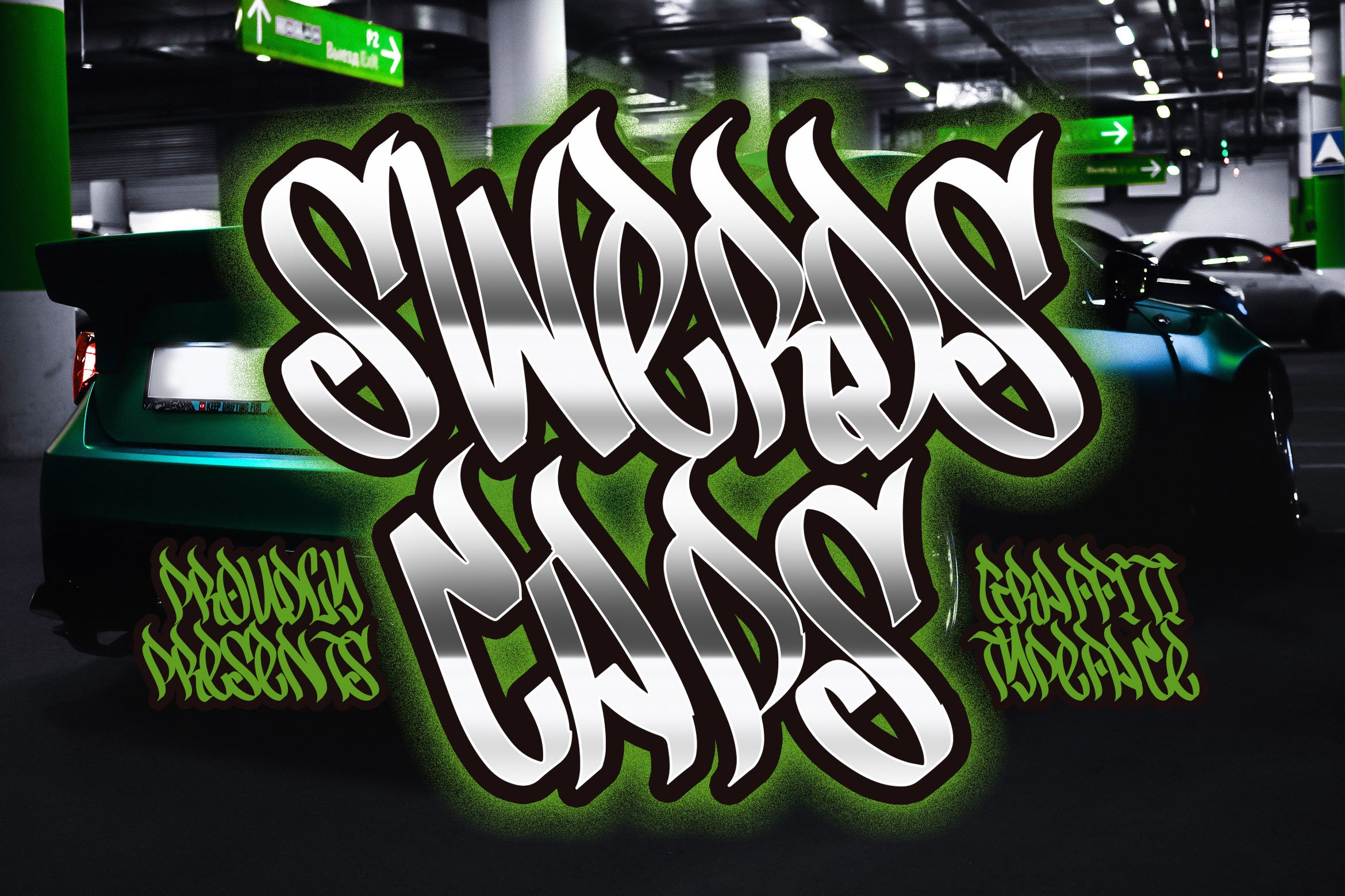 Graffiti Font Bundle example image 11