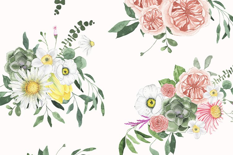 Summer Floral Fields collection example image 14