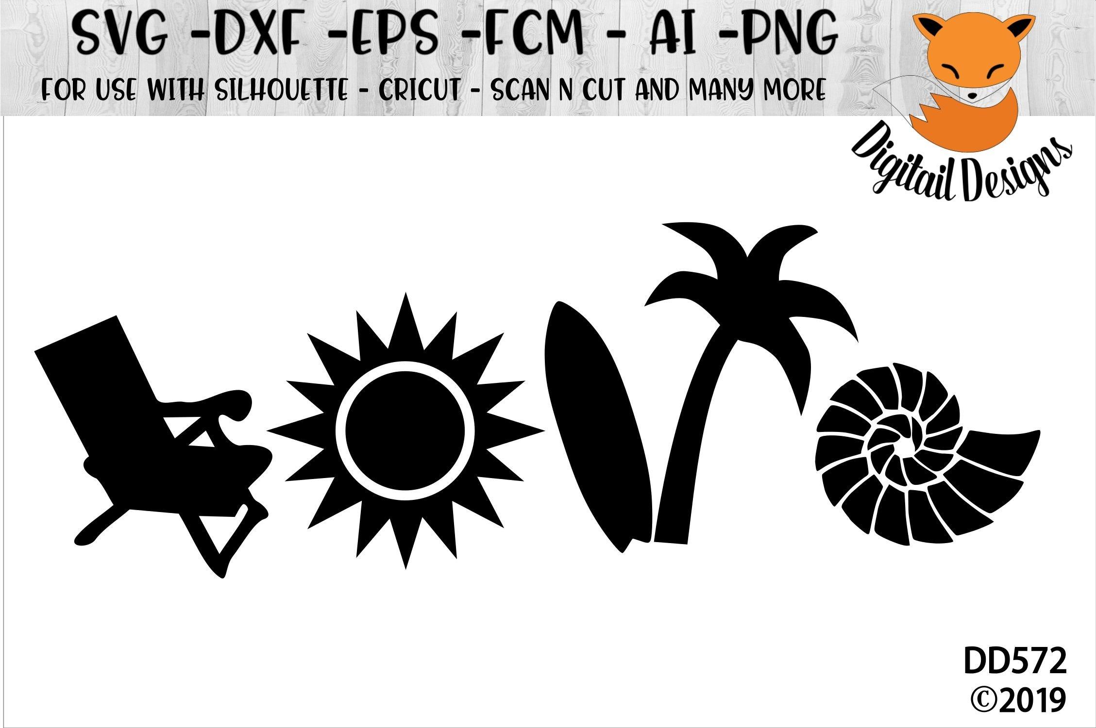 Download Beach Love Svg For Silhouette Cricut 198421 Cut Files Design Bundles