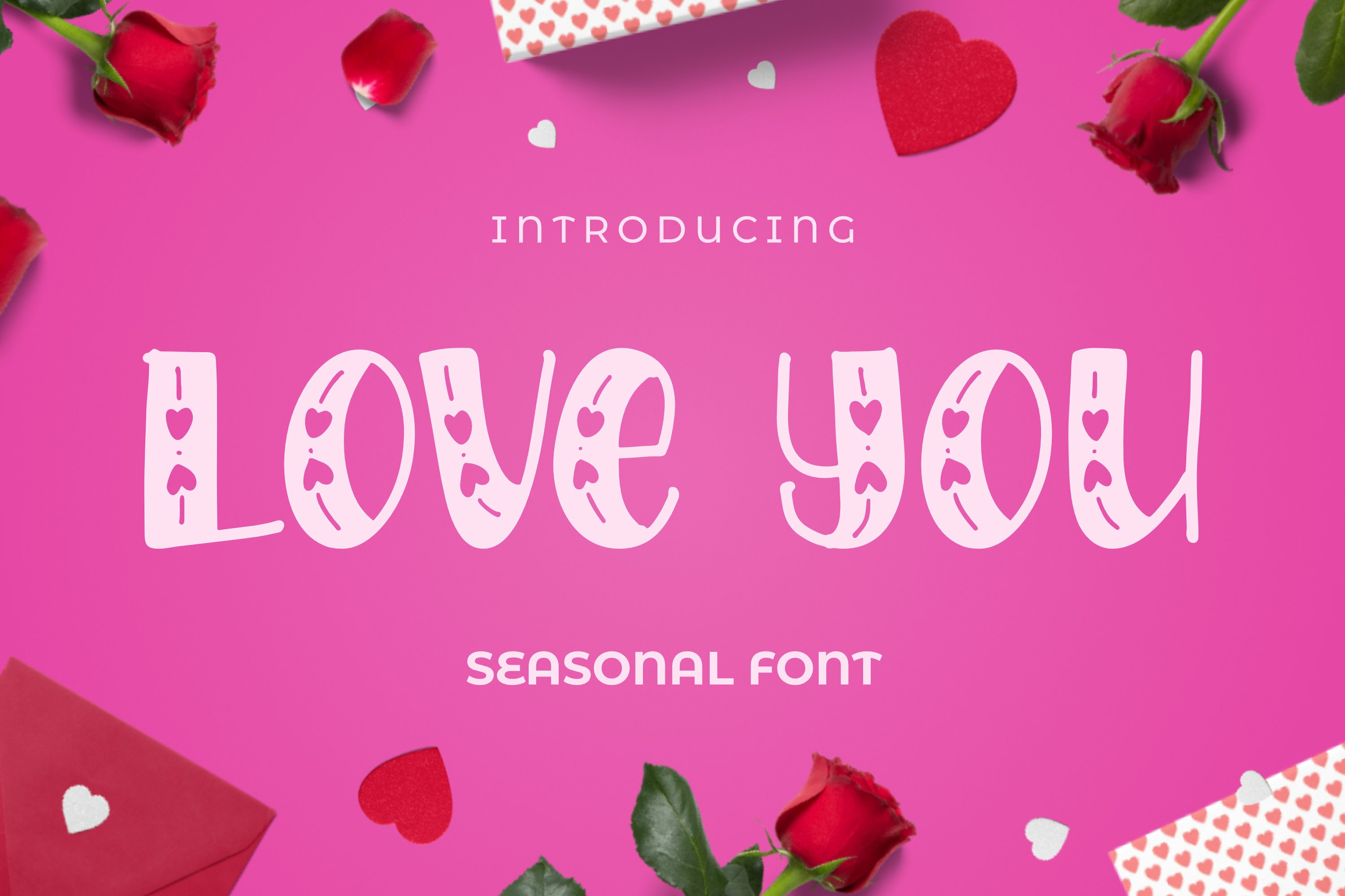 LOVEYOU Font example image 1