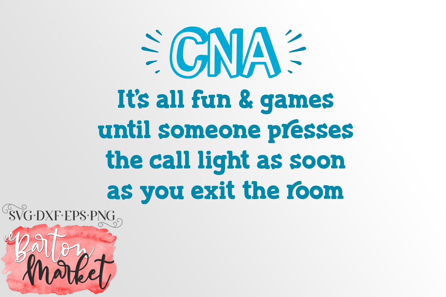 CNA Call Light SVG DXF EPS PNG example image 2