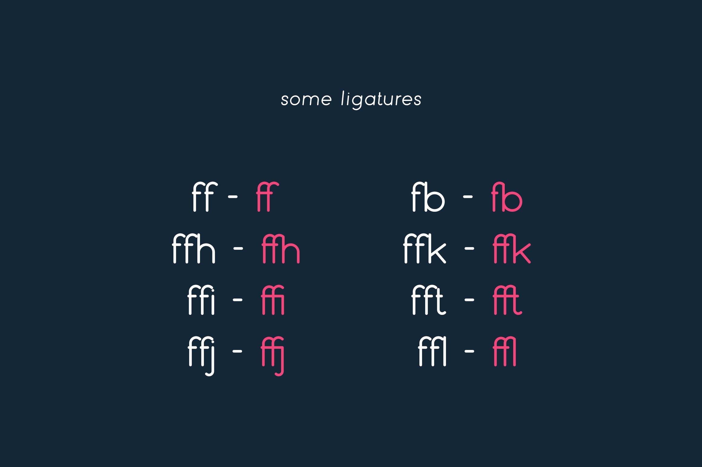 Bubbble Gum - sans serif typeface example image 8