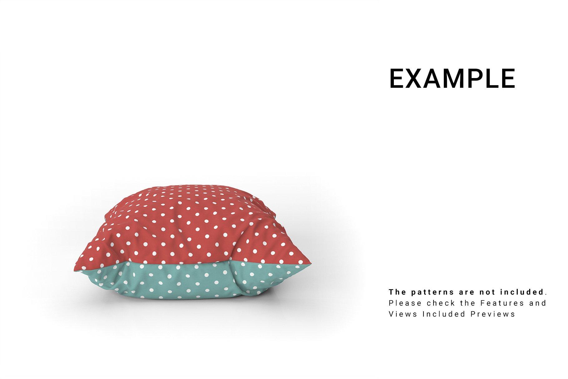 Throw Pillows Mockup Set example image 2