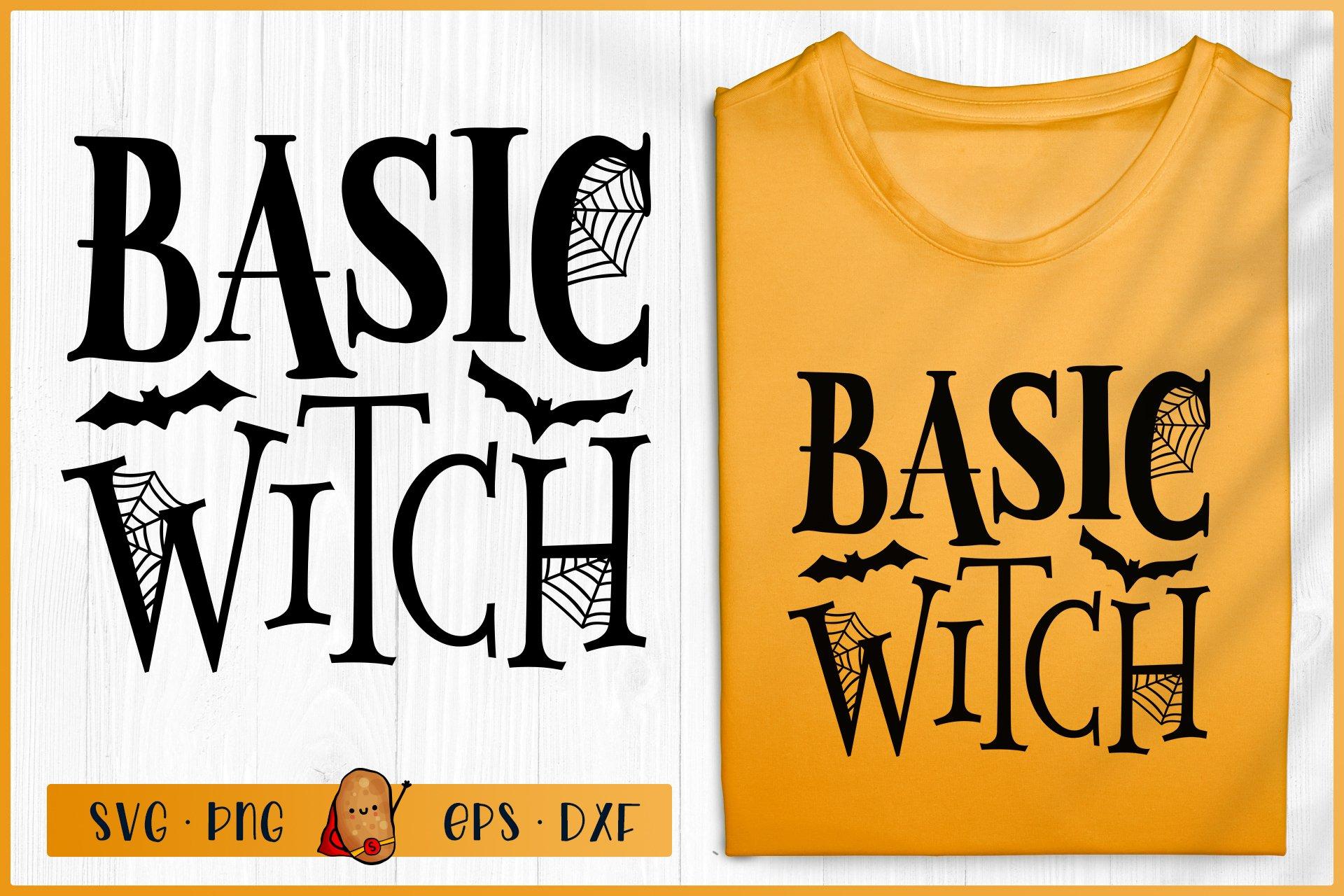 Halloween Svg Basic Witch Svg Halloween Sign Svg 741789 Cut Files Design Bundles