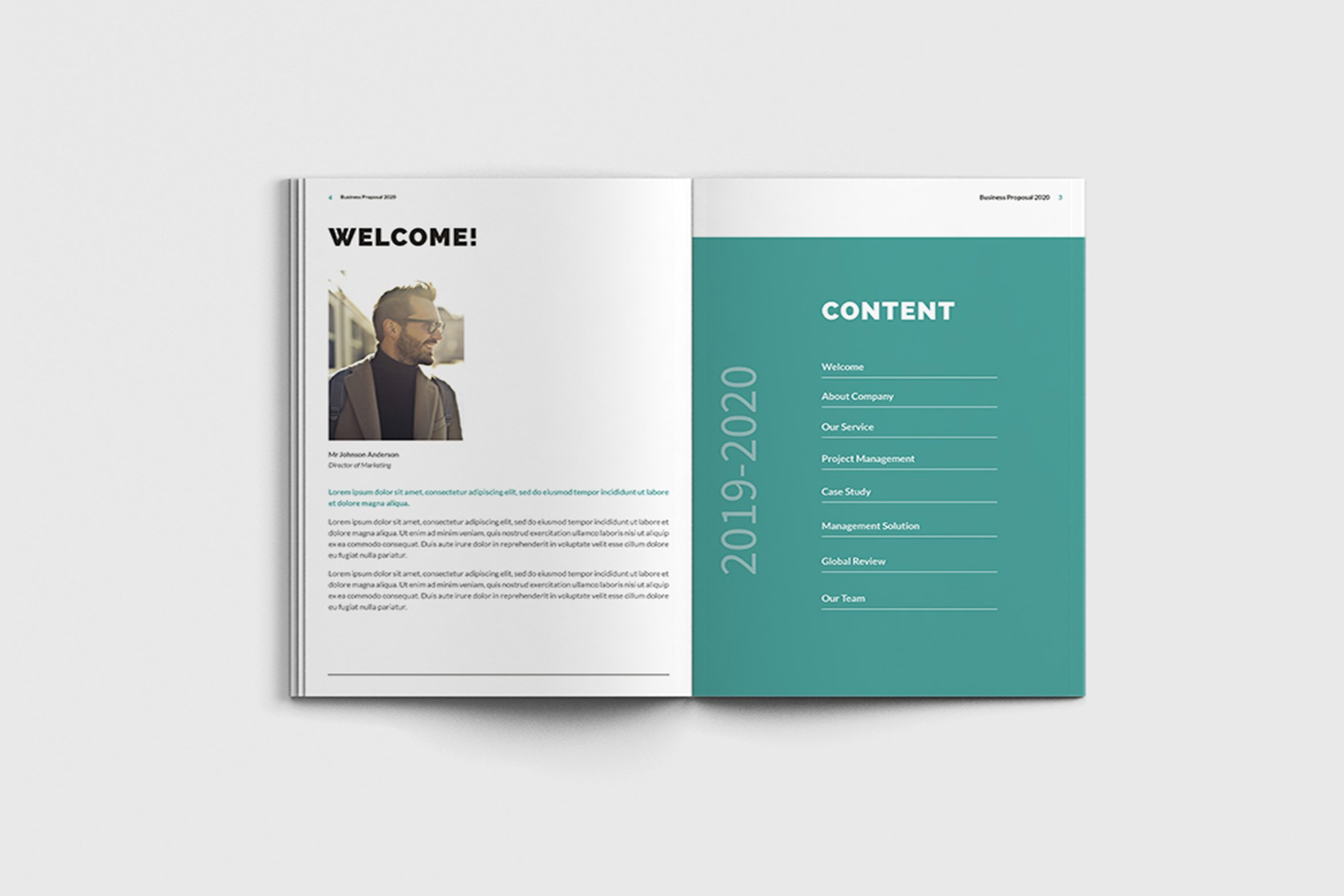 Mager - A4 Management Brochure Template example image 5
