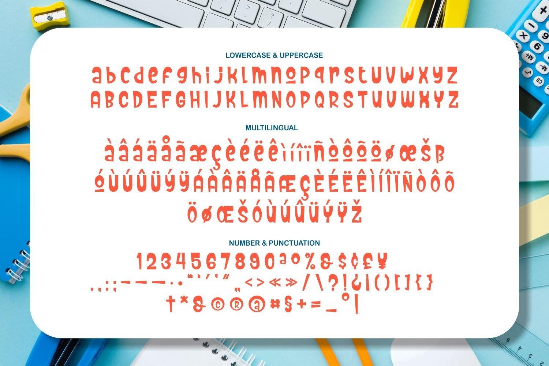 Childish - Playful Display Typeface example image 5