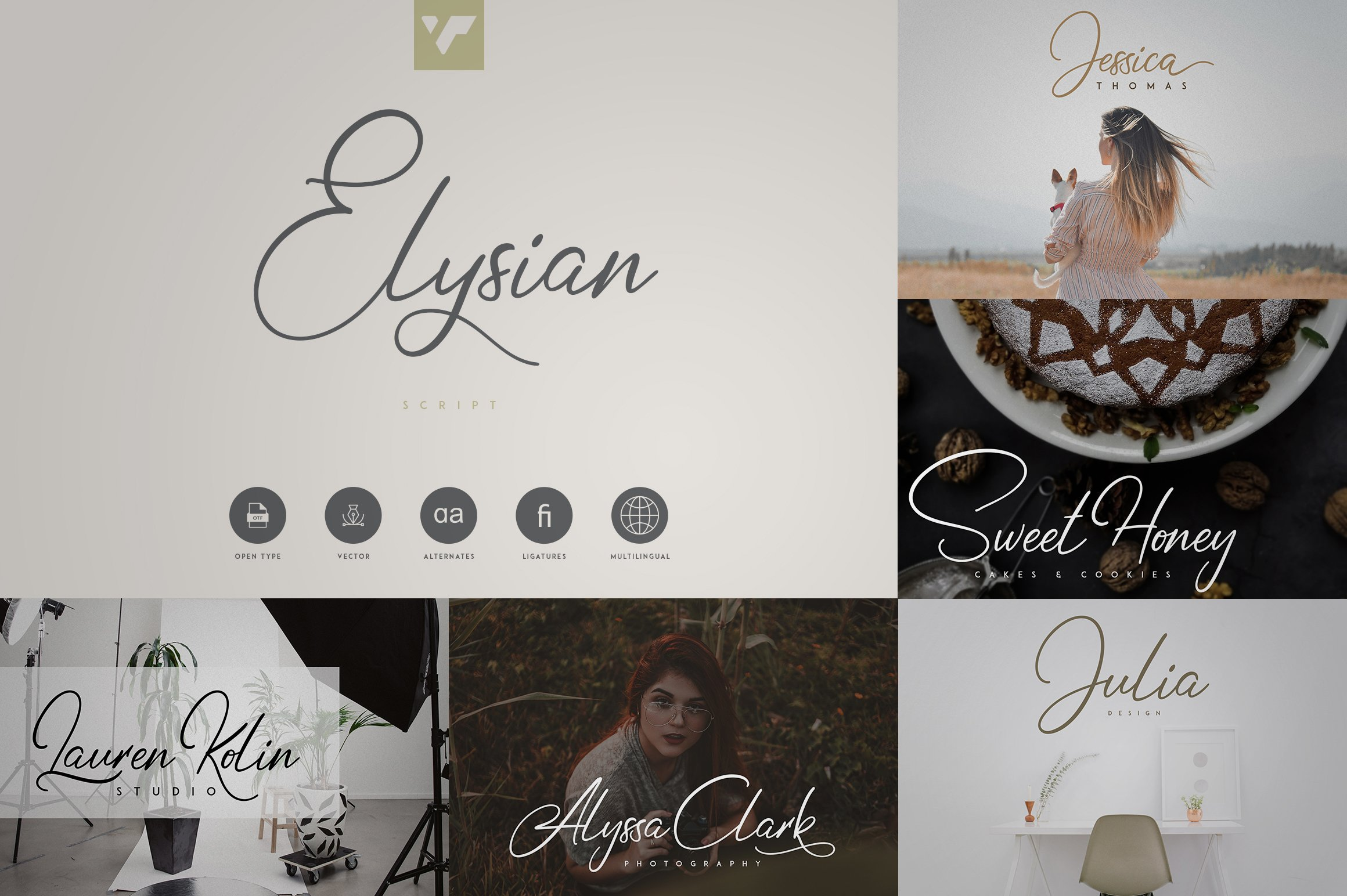Fantastic Collection - Fonts, Logos example image 5