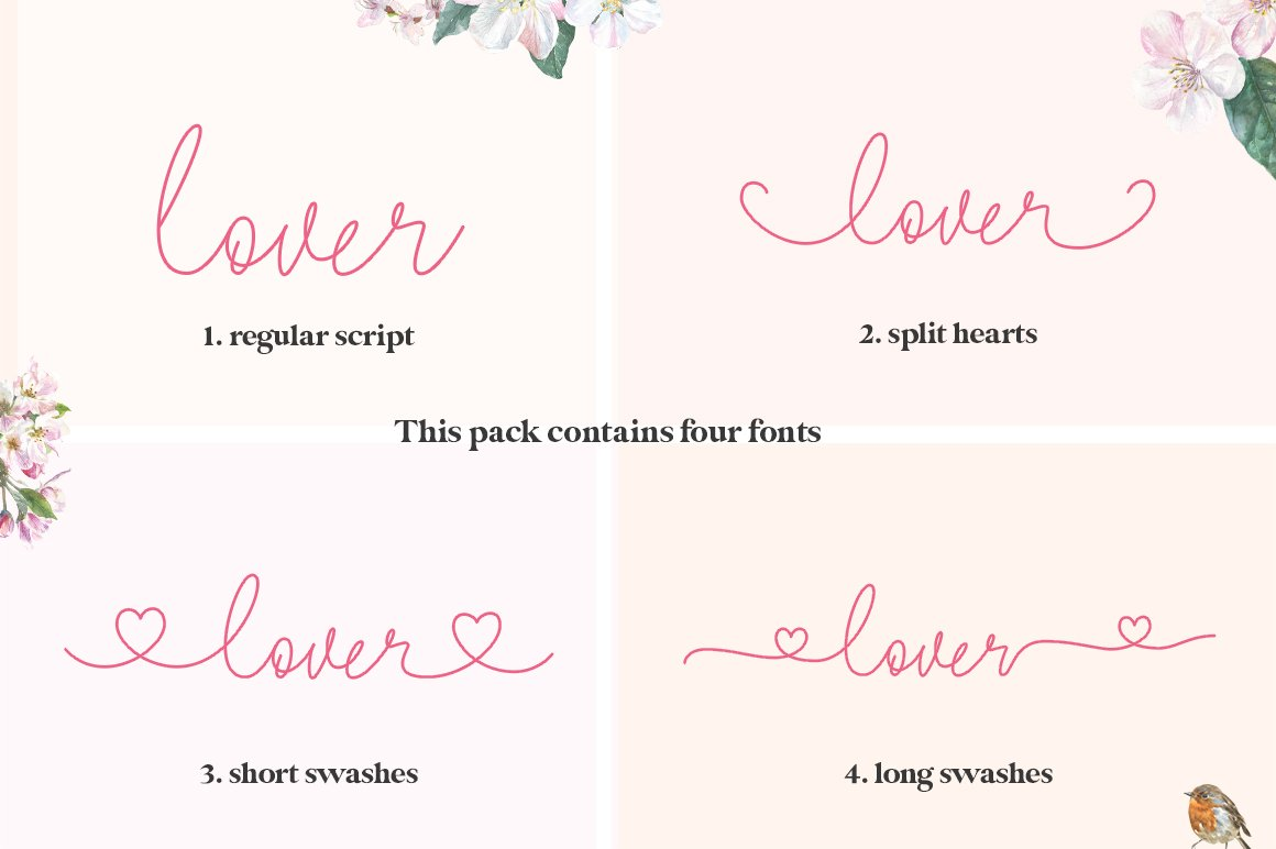 Lovers Script example image 2