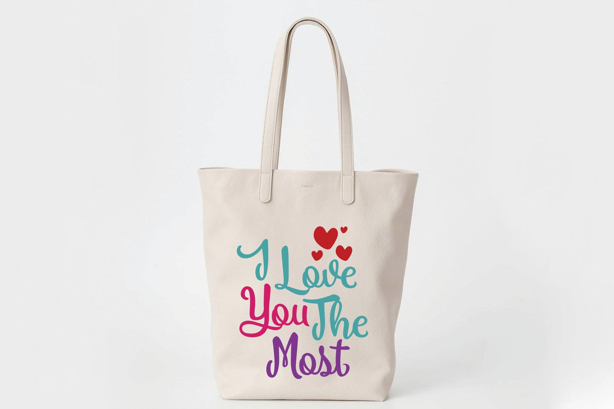 I Love You The Most Svg Cut File Valentine Svg Eps Dxf Png 180803 Svgs Design Bundles