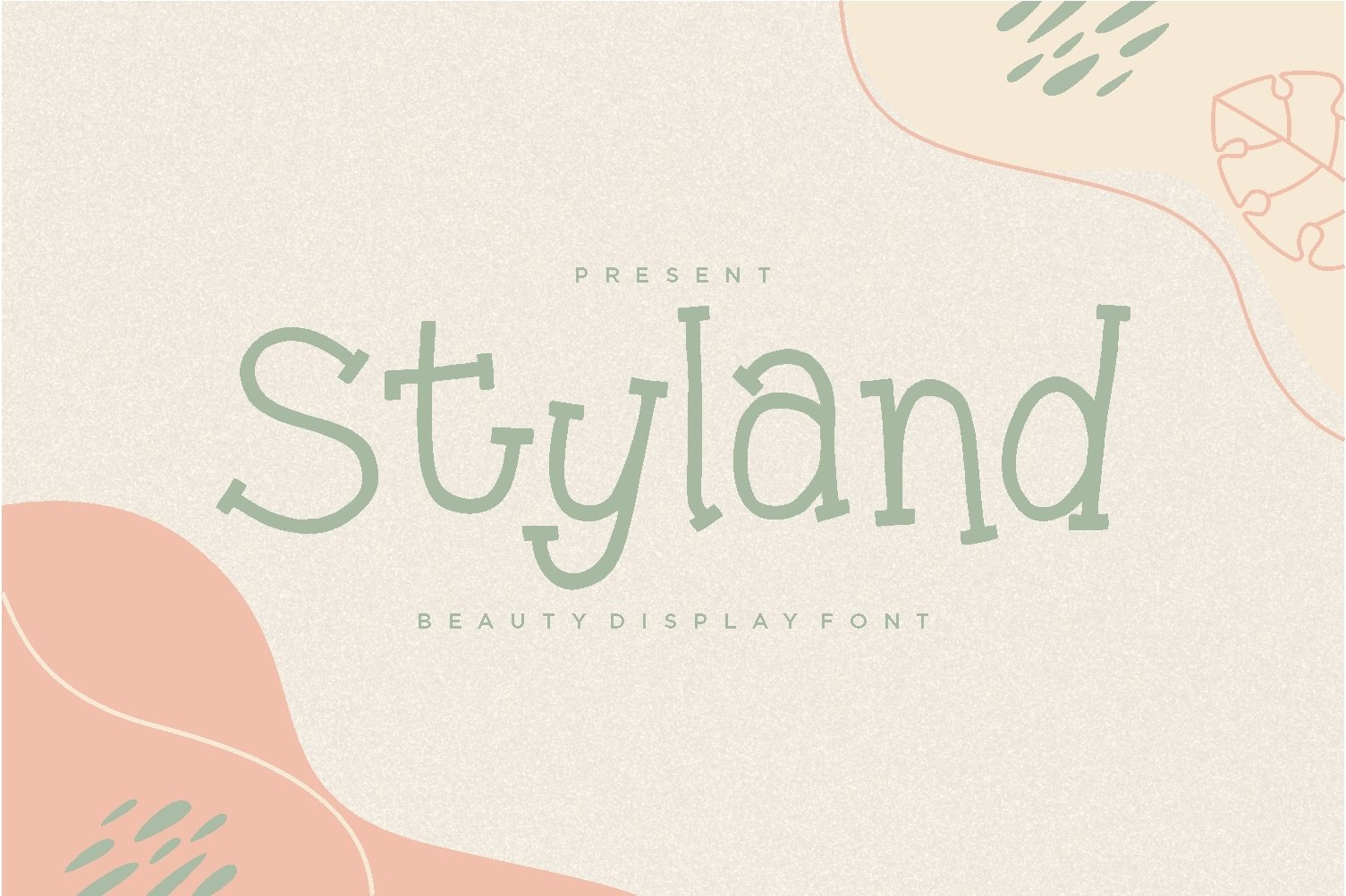 Styland - Beauty Display Font example image 1