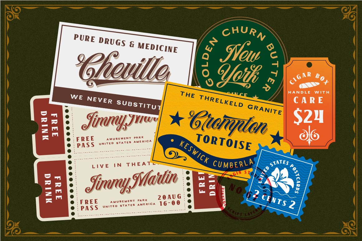 Benford Font Collections with Extras example image 9