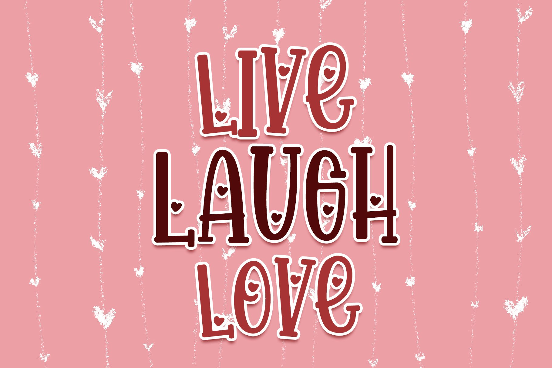 Happy Loves - Lovely Handwritten Font example image 6