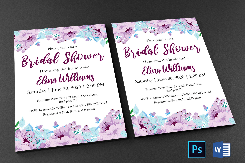 Bridal Shower Invitation example image 4