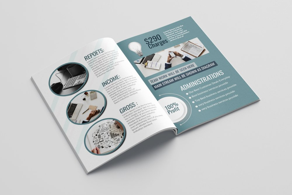 Business Bifold Brochure 16 Pages example image 3