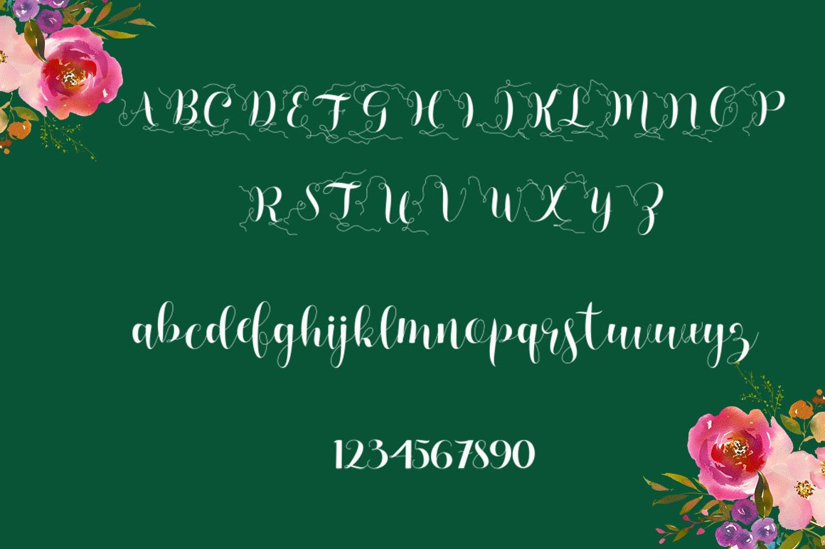 Marizta Script example image 7
