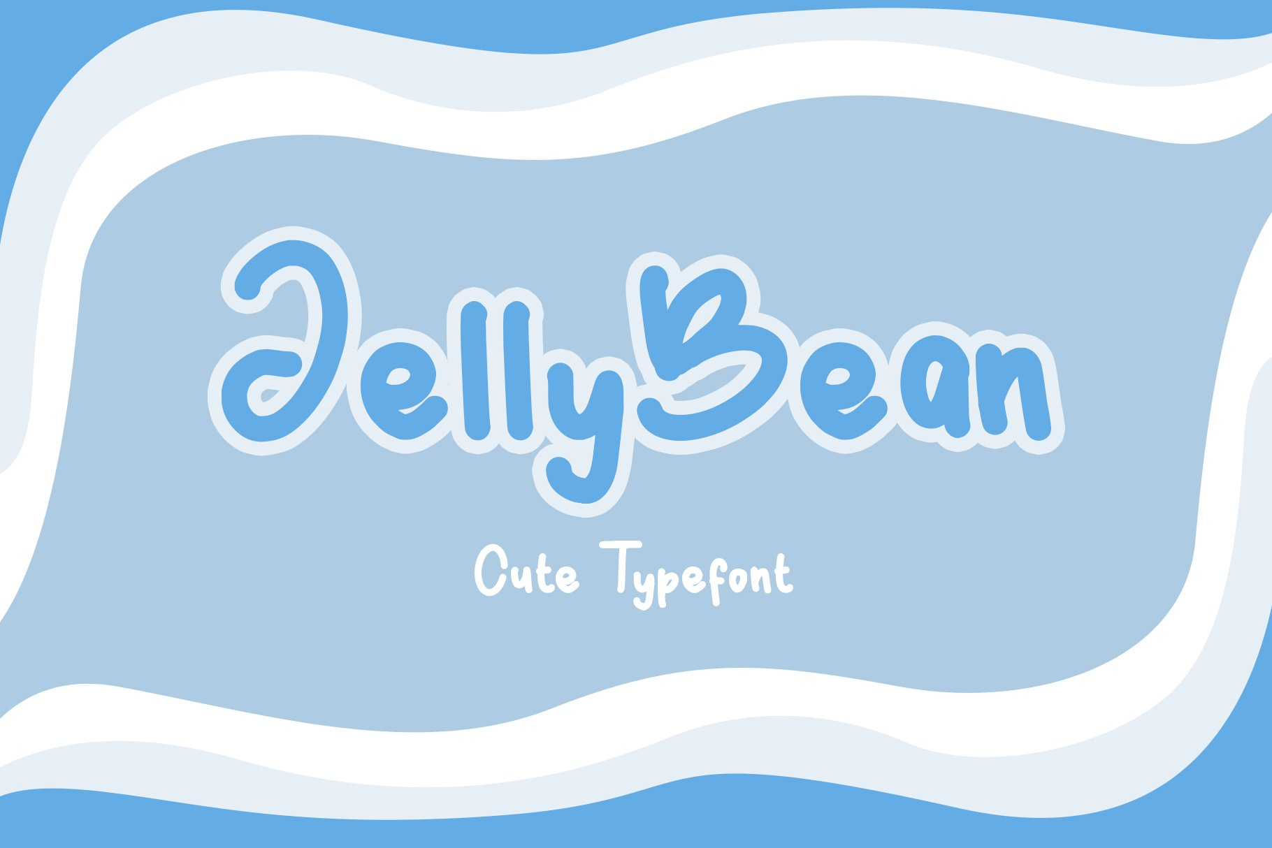 JellyBean || Cute & Playful Fonts example image 1