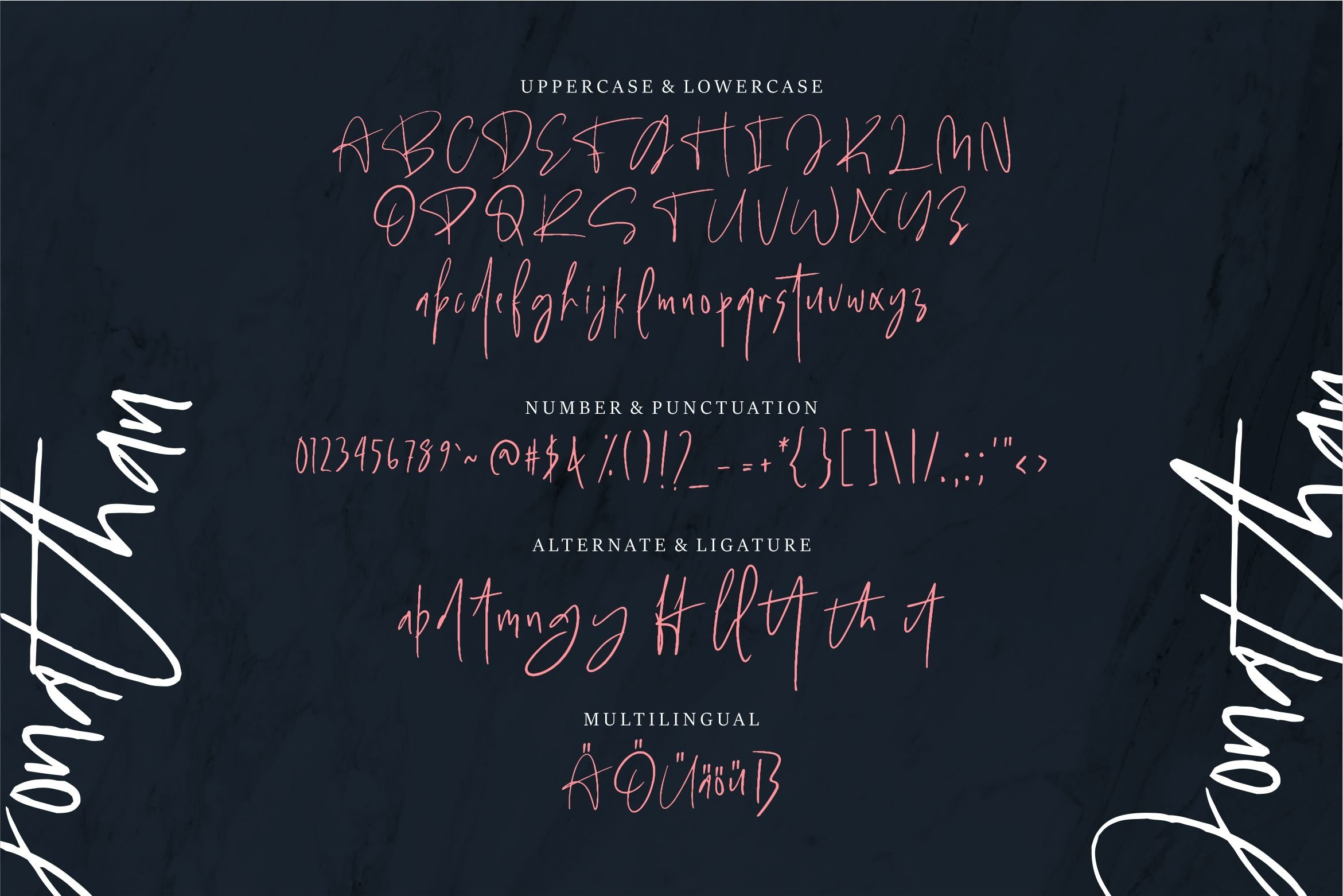 Gabriel - Handwritten Font example image 5