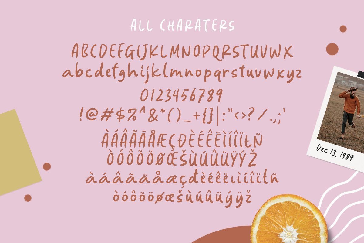 Springs Note Handwritten Font example image 6