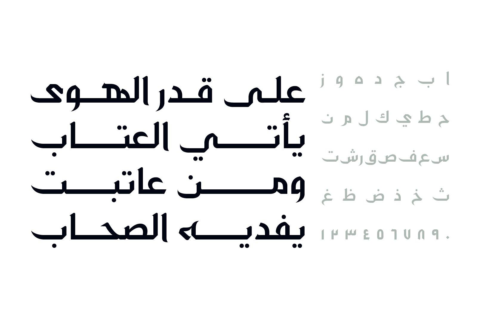 Zahey - Arabic Font example image 2