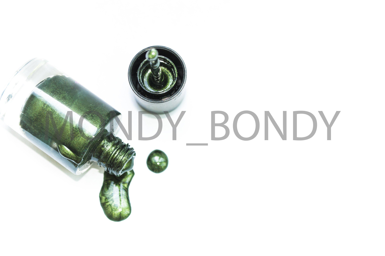 Nail polish on a white background example image 1