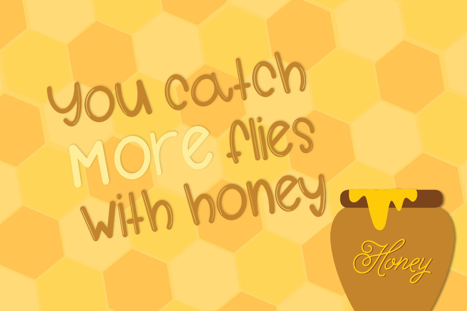 Honey Gloss - A Glossy & Solid Font Pair example image 3