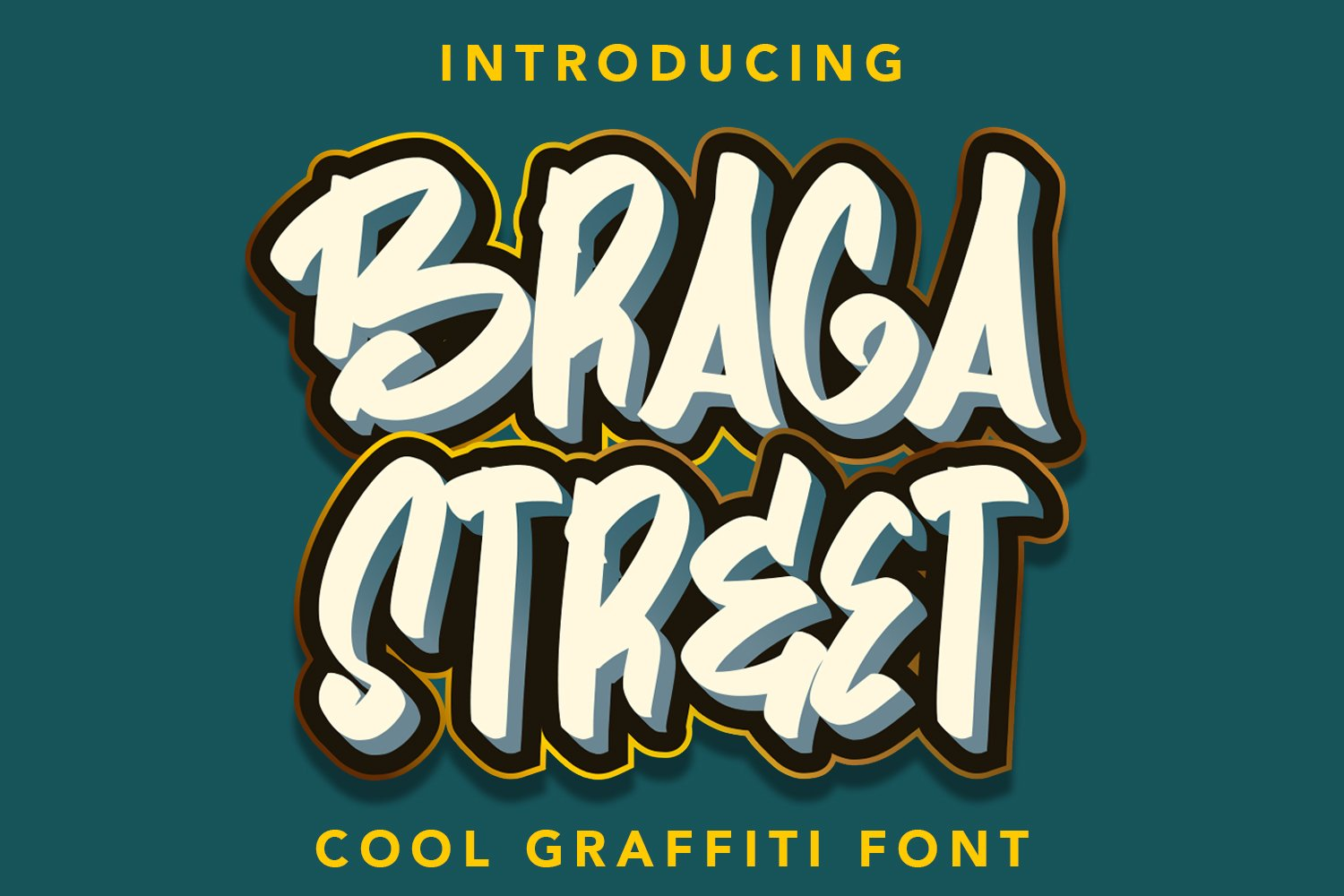 BragaStreet - Cool Gravity Fonts example image 1