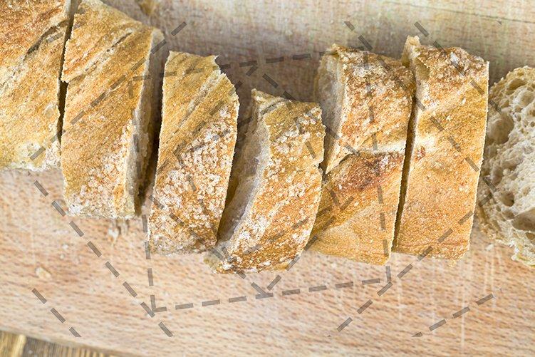 pieces of bread example image 1