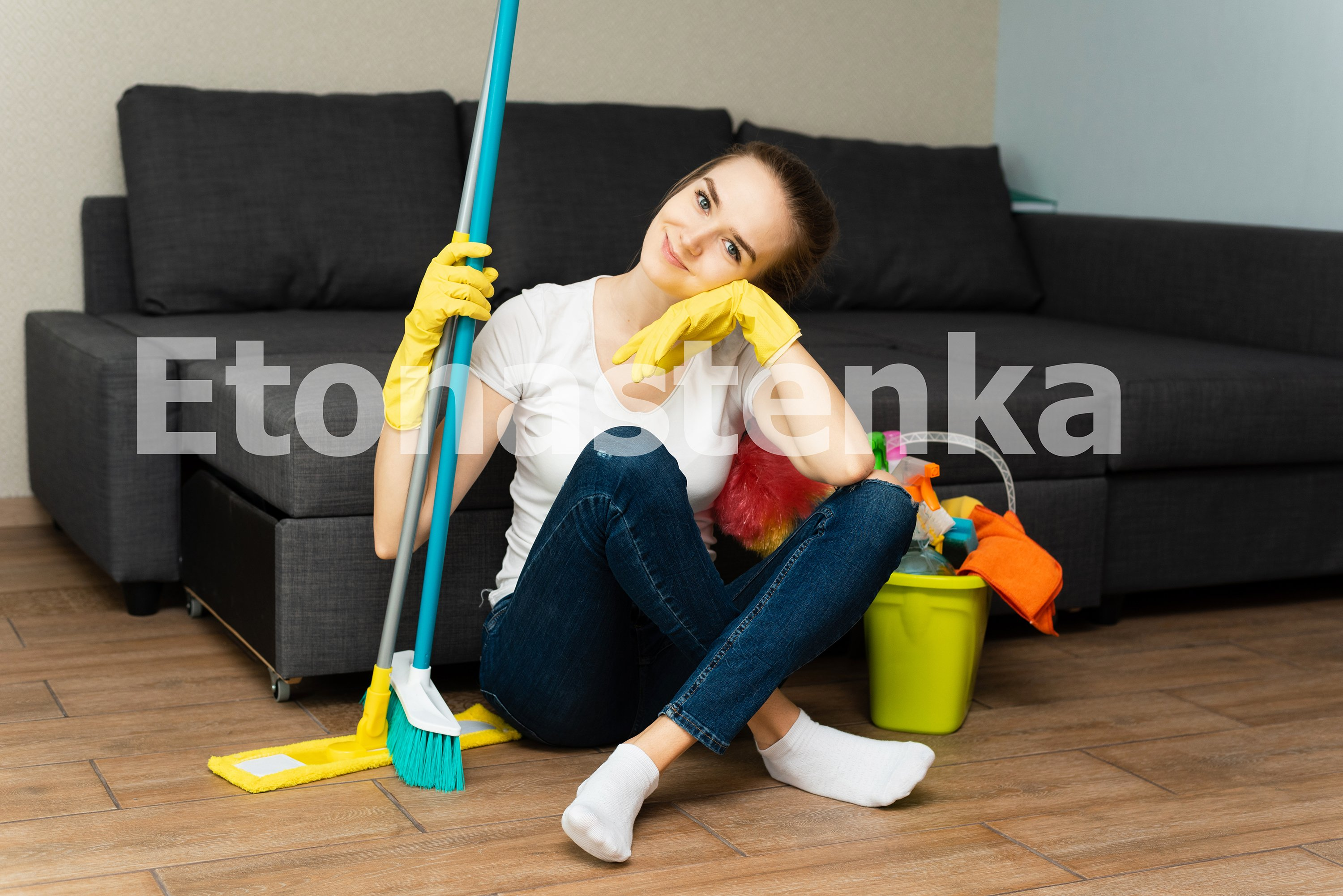 10 photos of house cleaning. Spring cleaning. example image 8
