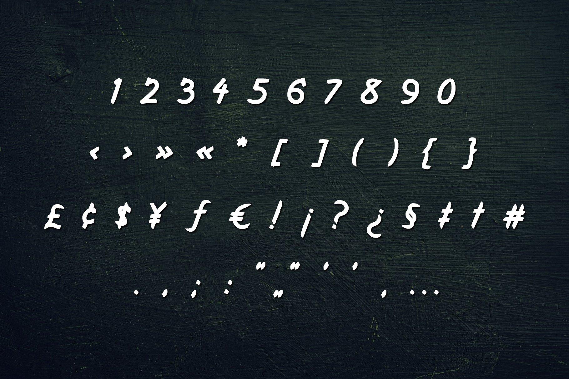 Kurazan Brush Font example image 4