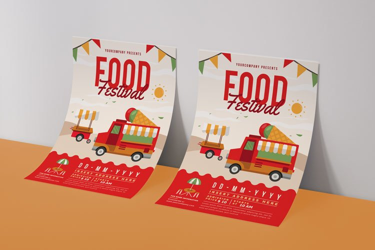 FOOD TRUCK FESTIVAL FLYER 3 example image 4
