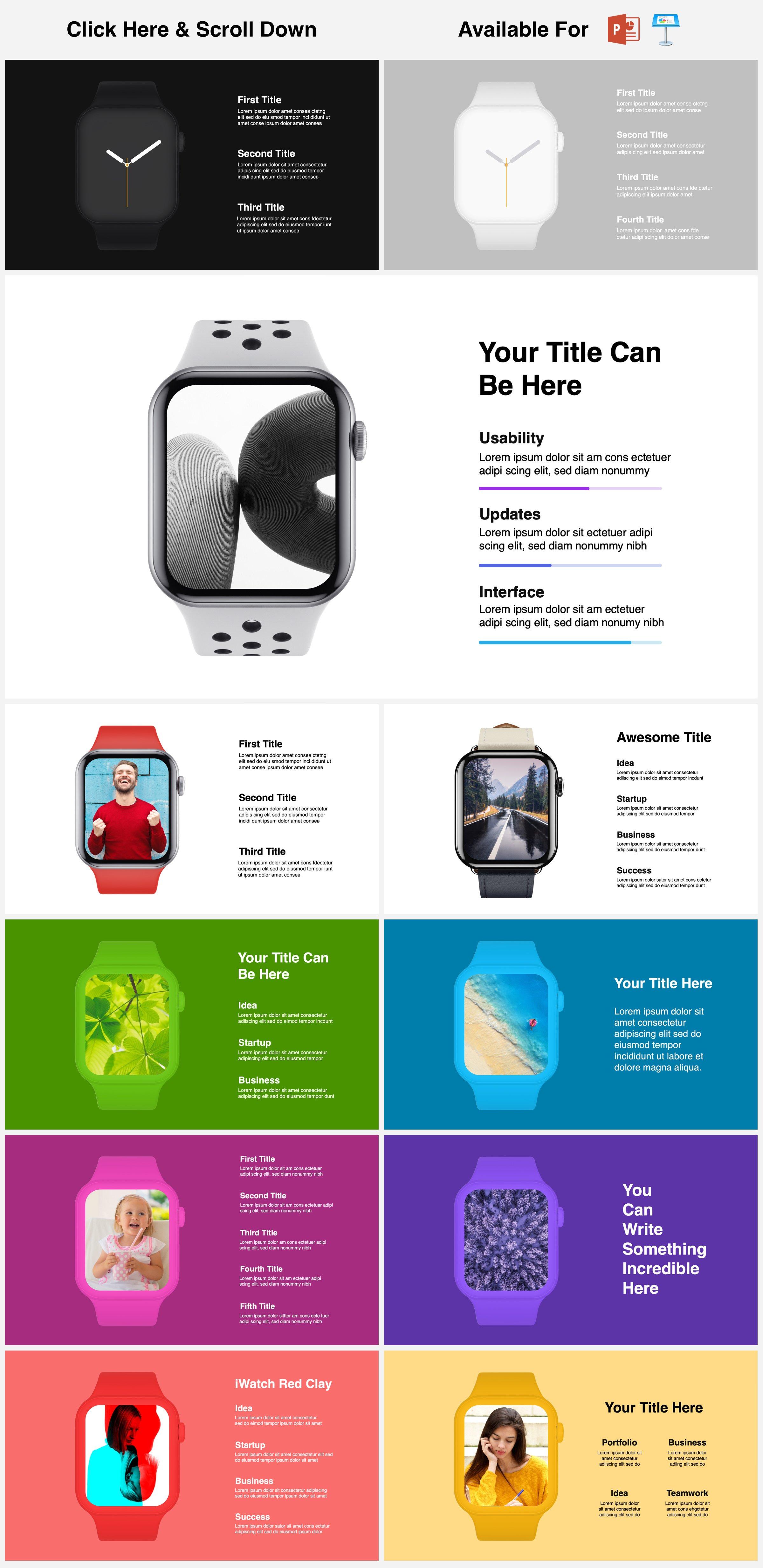 Animated Mockups Presentation Bundle. Infographic Templates. example image 29