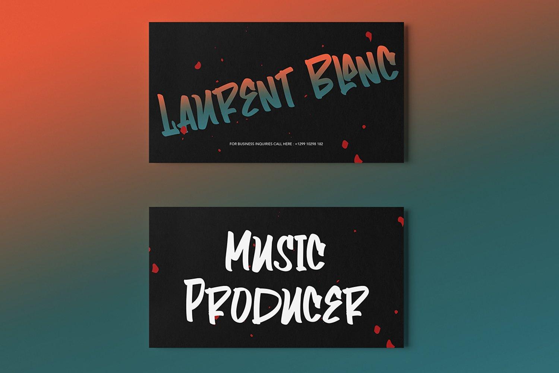 Playlist - Fancy Graffiti Font example image 2